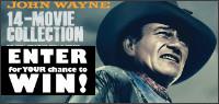 JOHN WAYNE 14 MOVIE COLLECTION ON DVD Contest