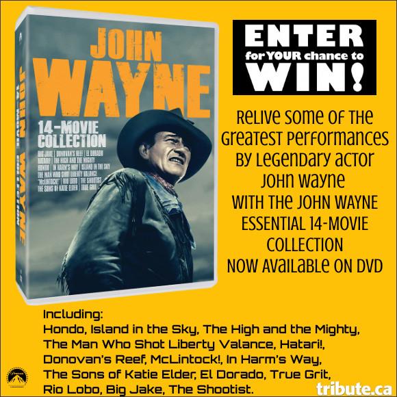 John Wayne 14 Movie Collection on DVD