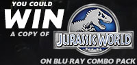 Enter to win a Jurassic World Blu-ray Combo Pack