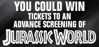 Win Advance Screening tickets to see Jurassic World