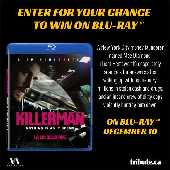 KILLERMAN Blu-ray contest