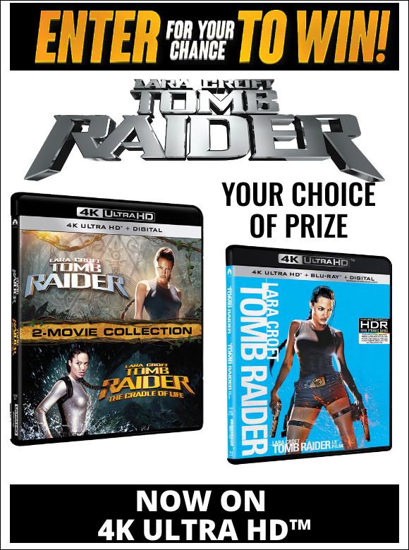 LARA CROFT TOMB RAIDER Contest