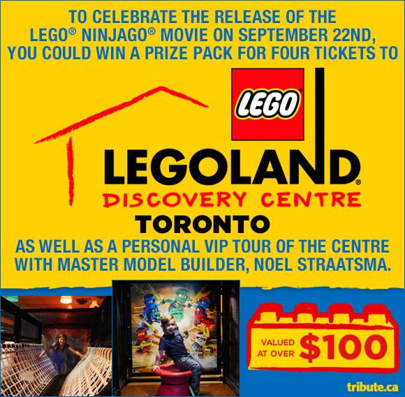 LEGOLAND Discovery Centre Toronto contest