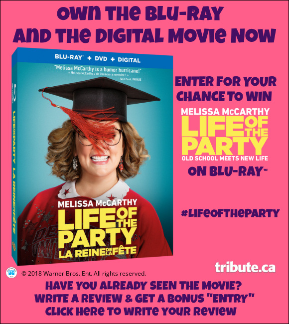Life Of The Party Blu-ray contest