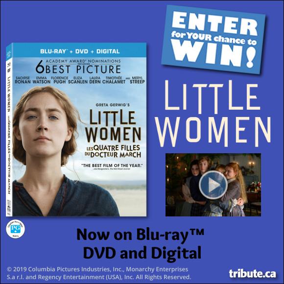 LITTLE WOMEN Blu-ray contest