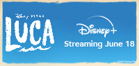 LUCA  Toronto Prize Pack And A Disney+ Subscription