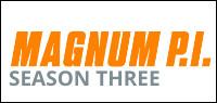 MAGNUM P.I. Season Three DVD