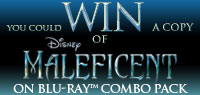 Enter to win a copy of Maleficent on Blu-ray Combo Pack