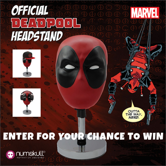 Marvel DEADPOOL official headstand contest