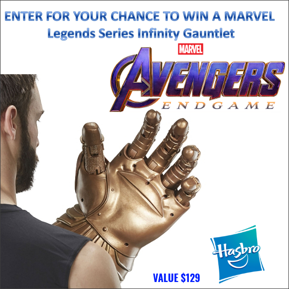 Win a Marvel Legends Series Infinity Gauntlet