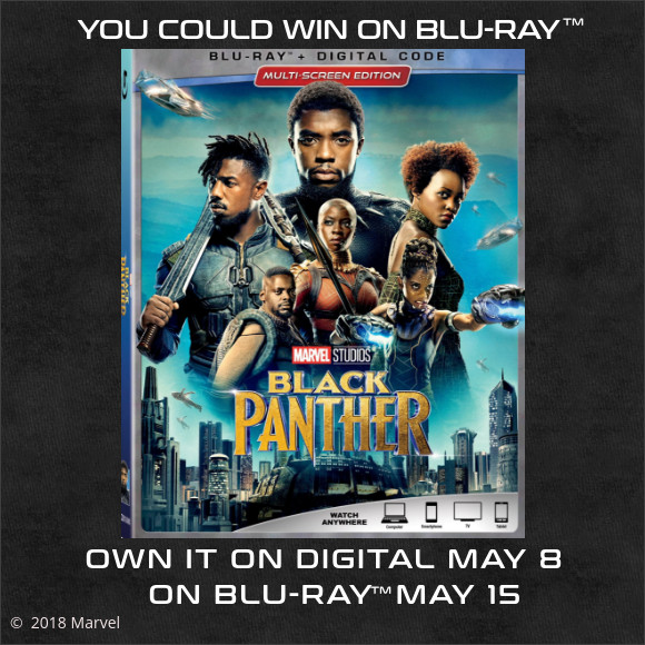 Marvels Black Panther on Blu-ray contest
