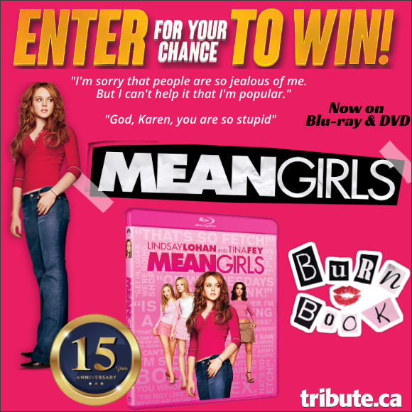 MEAN GIRLS 15th Anniversary Blu-ray contest