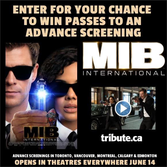 MEN IN BLACK INTERNATIONAL Advance Screening Pass contest