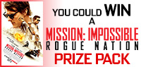 Enter to win Mission: Impossible – Rogue Nation Prize Pack contest