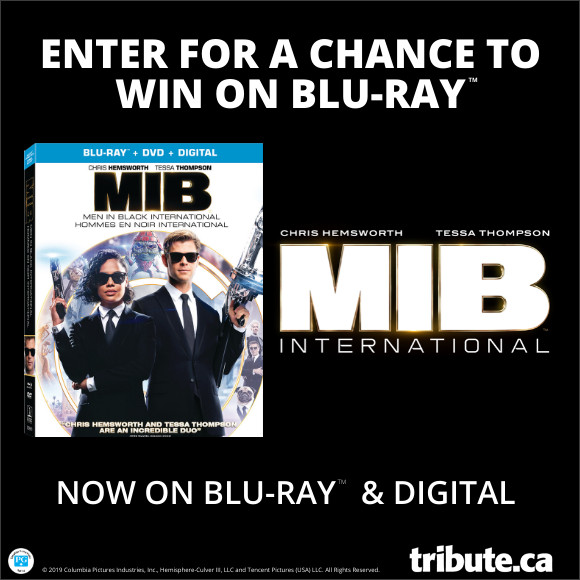 MIB INTERNATIONAL Blu-ray contest