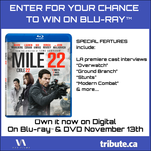 MILE 22 Blu-ray contest