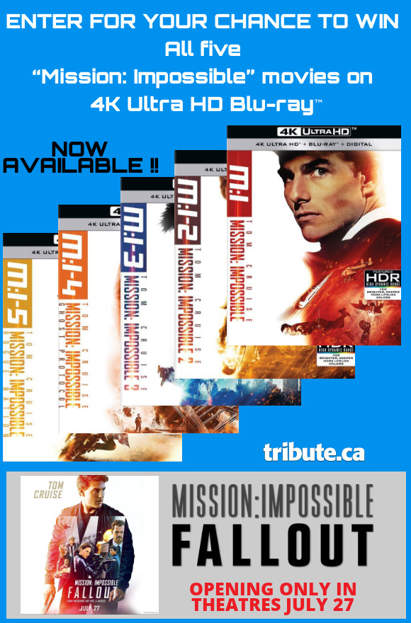 Mission Impossible 4K Ultra HD Blu-ray contest