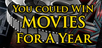 You Could Win Free Movies For a Year
