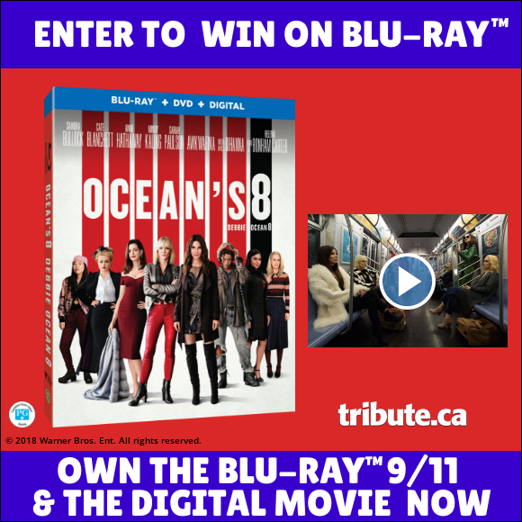 OCEAN'S 8 Blu-ray contest
