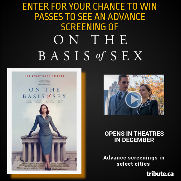 ON THE BASIS OF SEX Advance Screening Pass Contest