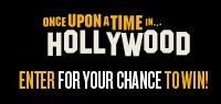 ONCE UPON A TIME IN HOLLYWOOD Blu-Ray, Soundtrack & Mustang LP Turntable Contest