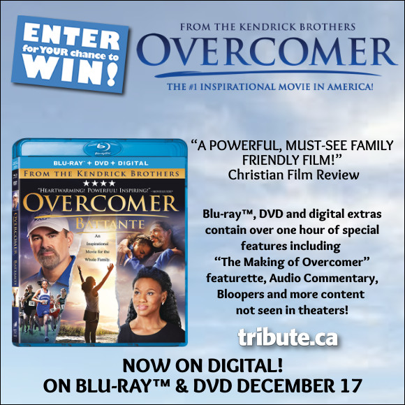 OVERCOMER Blu-ray contest