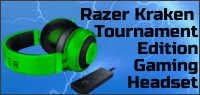 RAZER KRAKEN TOURNAMENT EDITION GAMING HEADSET Contest