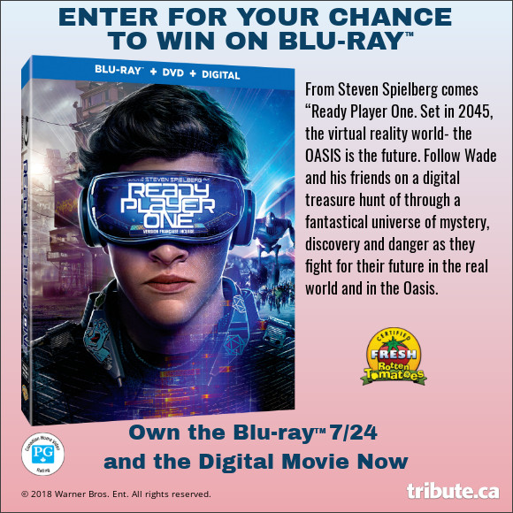 Ready Player One Blu-ray contest