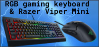 RGB Gaming Keyboard & Razer Viper Mini Contest