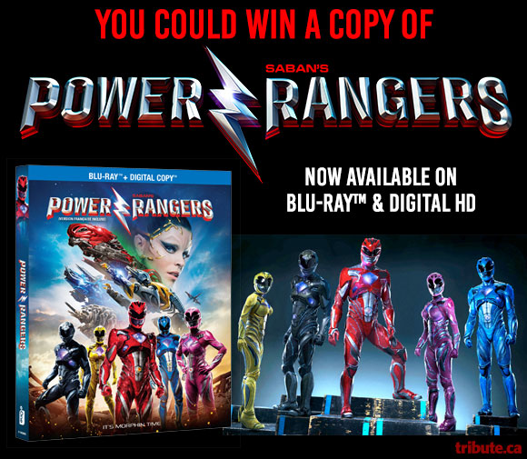 Saban 39 S Power Rangers Blu Ray Contest Contests And
