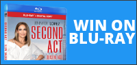 "Enter for your chance to win ""SECOND ACT"" on Blu-ray. Available now on Digital, On Blu-ray March 26."