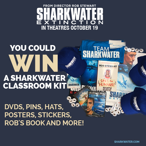 Sharkwater Extinction – Sharkwater Classroom Kit contest