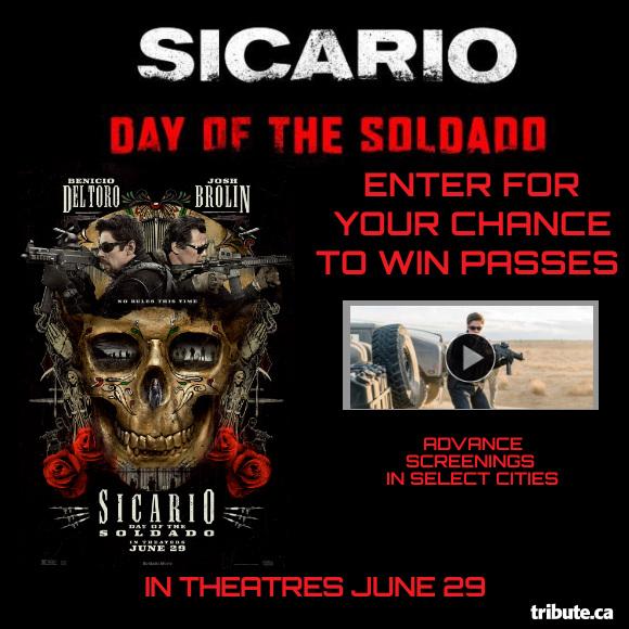 Sicario: Day of the Soldado Pass Contest