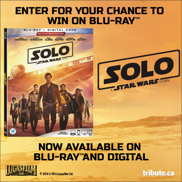 SOLO: A STAR WARS STORY Blu-ray contest