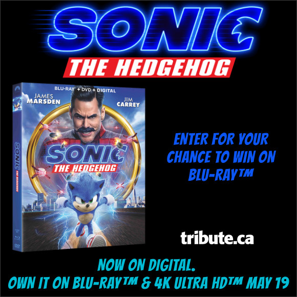 SONIC THE HEDGEHOG Blu-ray Contest