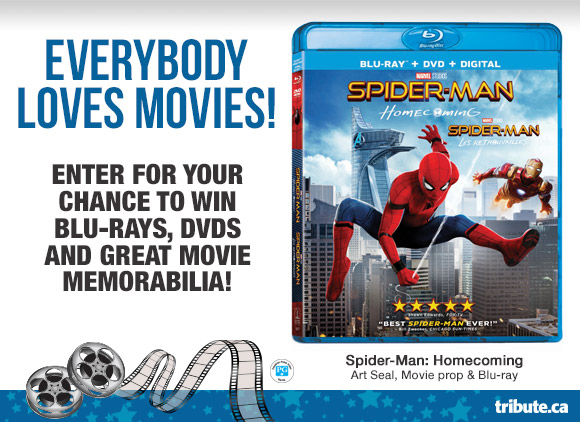 Sony Home Entertainment Movie Lovers contest