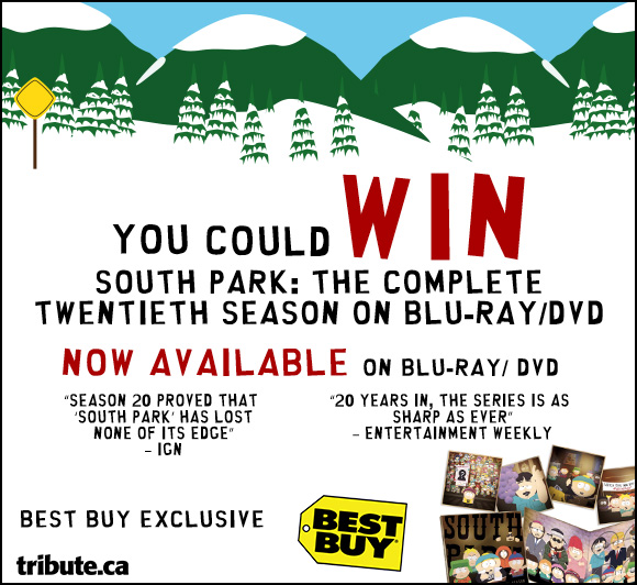 South Park The Complete Twentieth Season Blu-ray contest