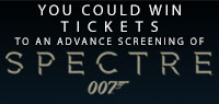 Win Advance Screening Passes to see SPECTRE