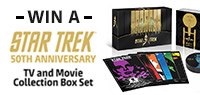 YOU COULD WIN STAR TREK 50th Anniversary TV and Movie Collection Box Set