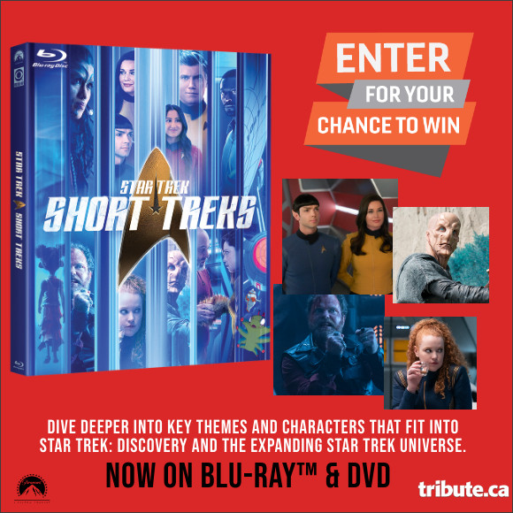 Enter for your chance to win STAR TREK SHORT TREKS on Blu-ray