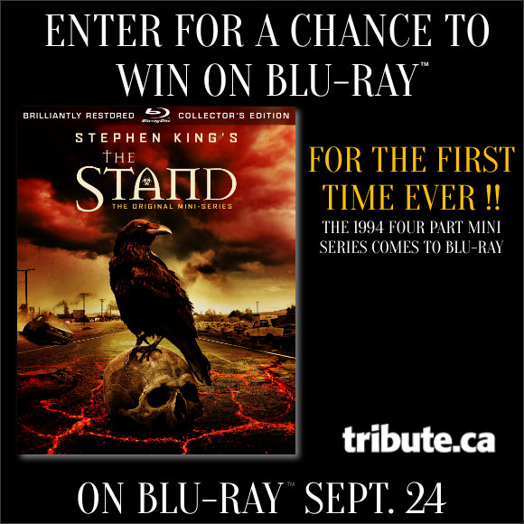 Stephen King's THE STAND Blu-ray contest