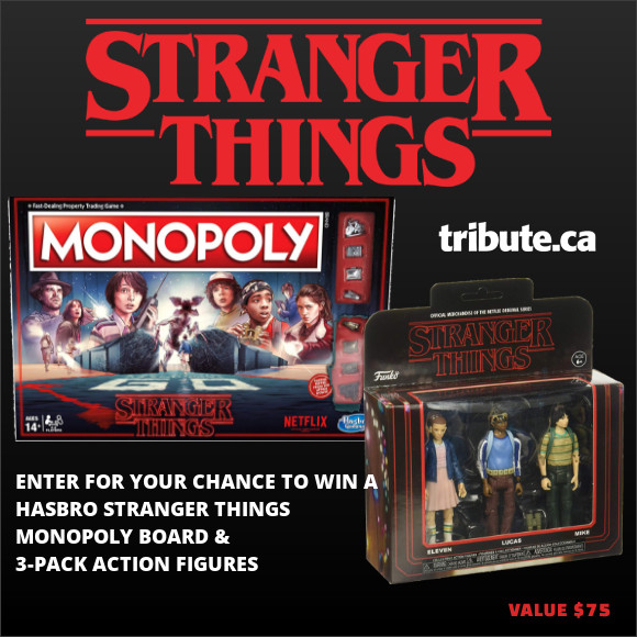 STRANGER THINGS Monopoly Board Game and Figurines contest