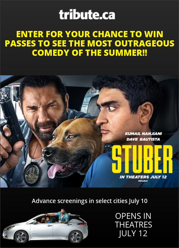 STUBER Toronto Advance Screening contest