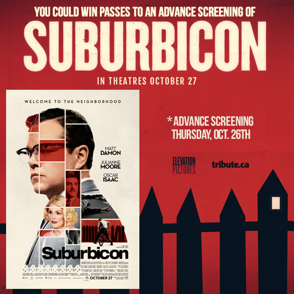 Suburbicon Advance Screening Pass contest