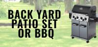 Summer Back Yard Patio Set