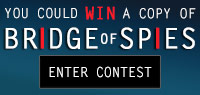 Enter to win one of ten copies of The Bridge of Spies on Blu-ray Combo Pack