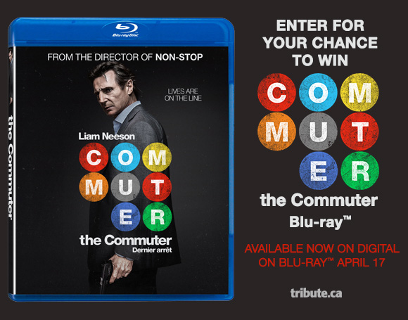 The Commuter Blu-ray contest