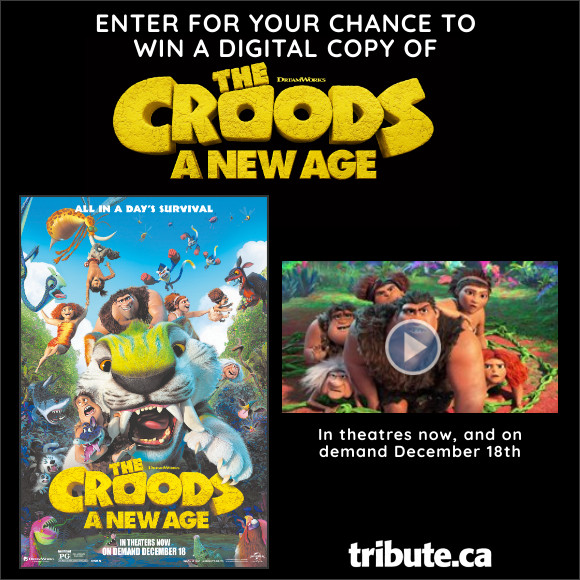 THE CROODS: A NEW AGE Vancouver Family Pass Contest