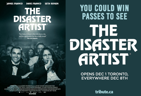 The Disaster Artist Pass contest