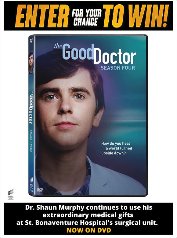 The Good Doctor Season Four on DVD